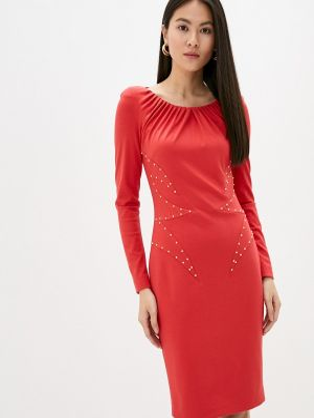 Красное платье Cavalli Class