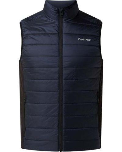 Kamizelka pikowana - niebieska Ck Calvin Klein