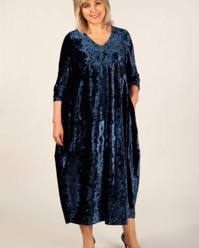 Платье в стиле бохо с вырезом милада