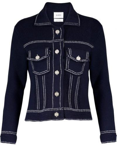 Хлопковая ватная синяя джинсовая куртка Barrie