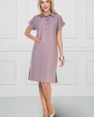 Платье мини на пуговицах классическое Bellovera