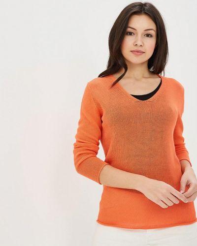 Оранжевый пуловер Rodier
