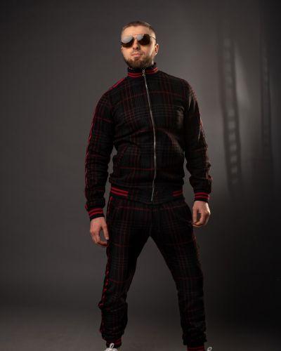 Шерстяной спортивный костюм - красный Rozetka