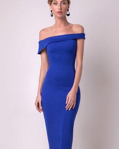 Вечернее платье - синее Olga Skazkina