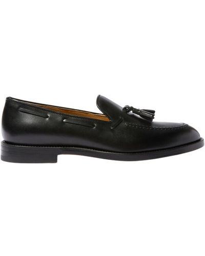 Czarne loafers Scarosso