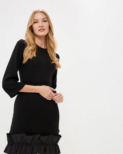Вязаное платье осеннее трикотажное Lost Ink.