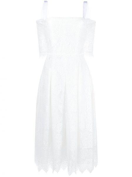 Кружевное платье - белое Talbot Runhof