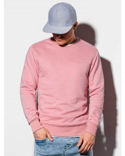 Różowa bluza bawełniana Ombre