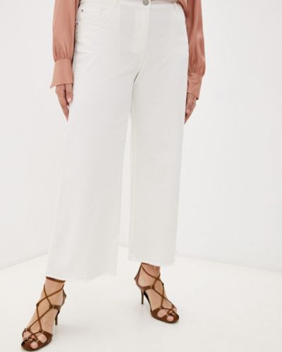 Белые джинсы осенние Elena Miro