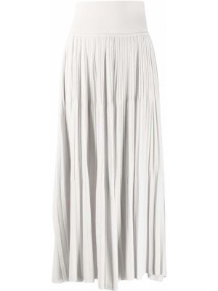 Плиссированная юбка с поясом Sminfinity