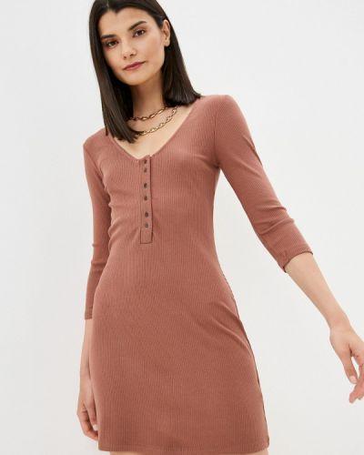 Платье - коричневое Rvca