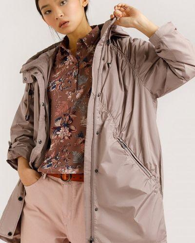 Куртка оверсайз - коричневая Finn Flare