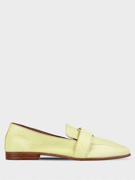 Кожаные туфли - желтые Inuovo