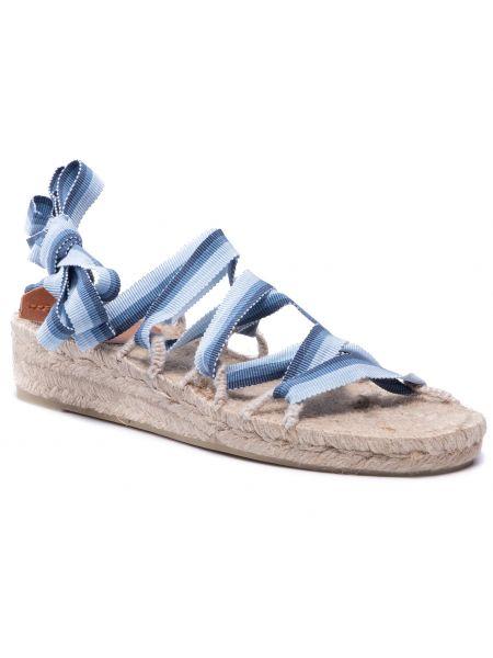 Niebieskie sandały casual Castaner