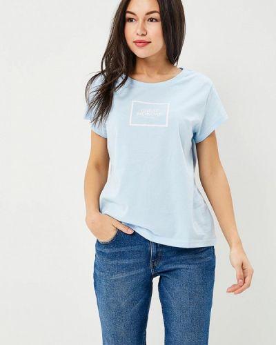 Голубая футболка Cheap Monday