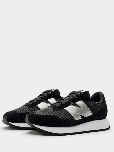 Городские черные кроссовки New Balance