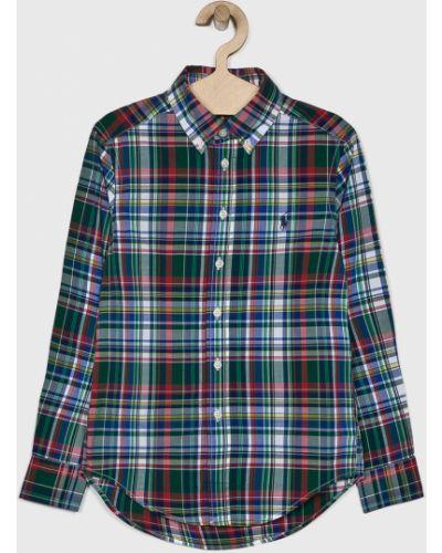 Рубашка с узором зеленый Polo Ralph Lauren