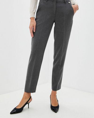 Повседневные серые брюки Blugirl Folies
