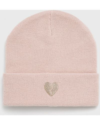 Зимняя шапка бини розовый Tally Weijl