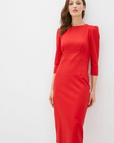 Красное платье-футляр Trendyangel