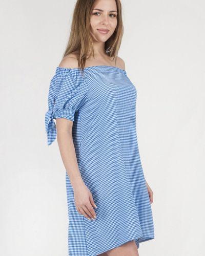 Платье с открытыми плечами весеннее Vergans
