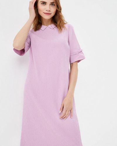 Платье весеннее фиолетовый Helmidge