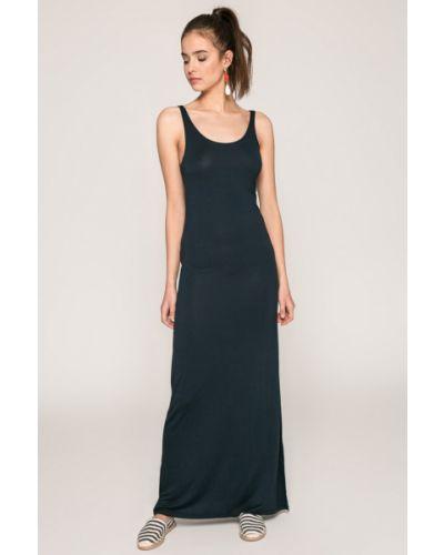 Платье макси из вискозы однотонное Vila
