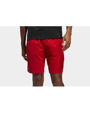 Czerwone spodenki sportowe Adidas