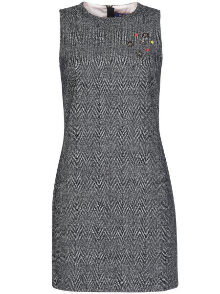 Платье из вискозы осеннее Trussardi Jeans