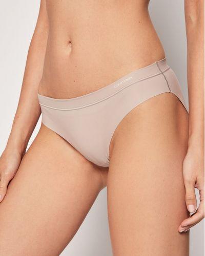 Figi - beżowe Calvin Klein Underwear