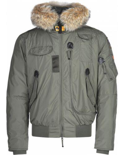 Куртка из полиуретана - зеленая Parajumpers