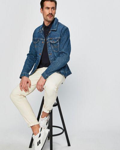Джинсовая куртка легкая на пуговицах Wrangler