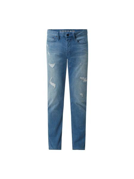 Niebieskie jeansy slim Denham