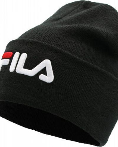 Спортивная шапка - черная Fila