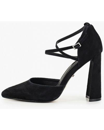 Туфли на каблуке замшевые осенние Topshop