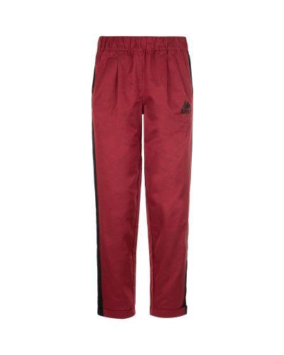 Спортивные брюки с карманами красный Kappa