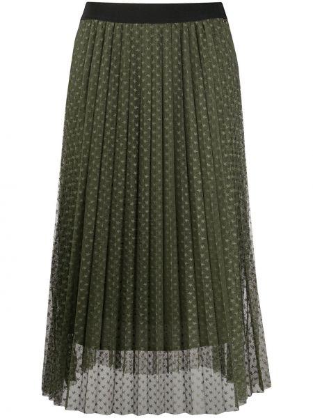 Плиссированная юбка из фатина с завышенной талией Liu Jo