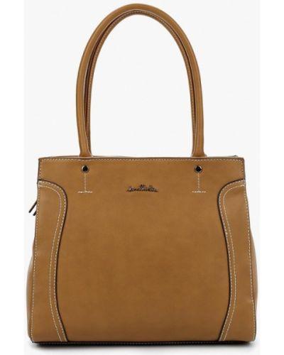 Коричневая пляжная сумка Jane Shilton