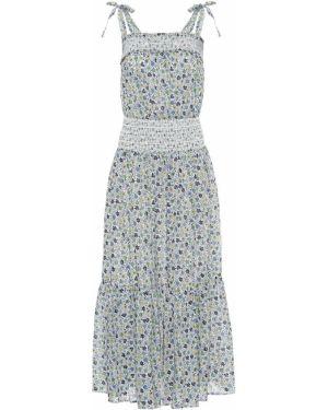 Платье миди с цветочным принтом Tory Burch
