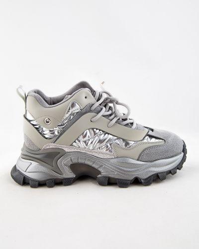 Серебряные полуботинки осенние Sidestep