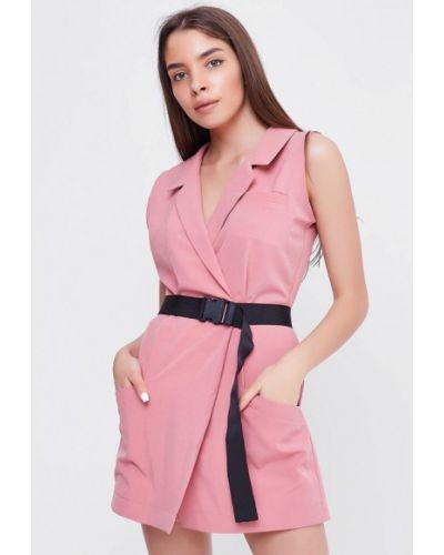 Комбинезон с шортами розовый Sfn