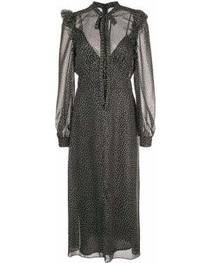 Платье миди в горошек на пуговицах Jill Jill Stuart