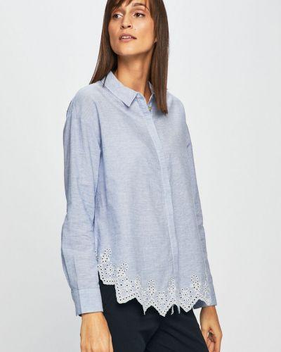 Блузка с длинным рукавом хлопковая свободного кроя Only