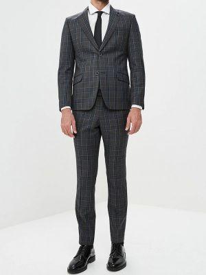 Серый костюм Bazioni