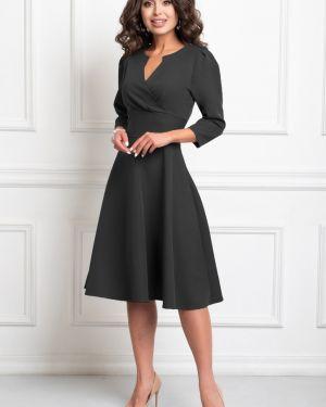 Платье с поясом платье-сарафан из вискозы Bellovera