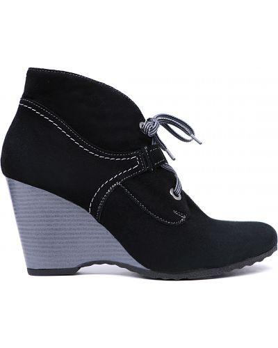 Ботинки - черные Bosca
