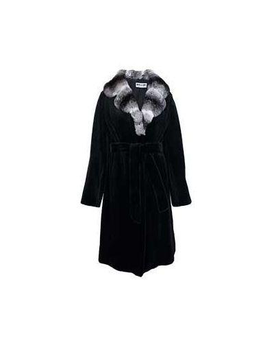 Зимнее пальто трапеция расклешенное прямое Bellini