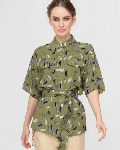 Весенняя блузка хаки Lo