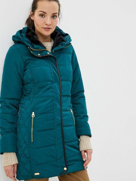 Теплая зеленая утепленная куртка Regatta