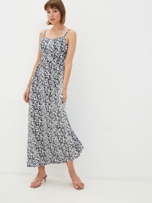 Синее весеннее платье Gloss